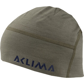 Aclima LightWool Hunting Bonnet, ranger green/orange popsicle